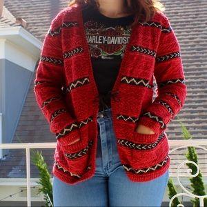 Ralph Lauren Tribal Print Sweater